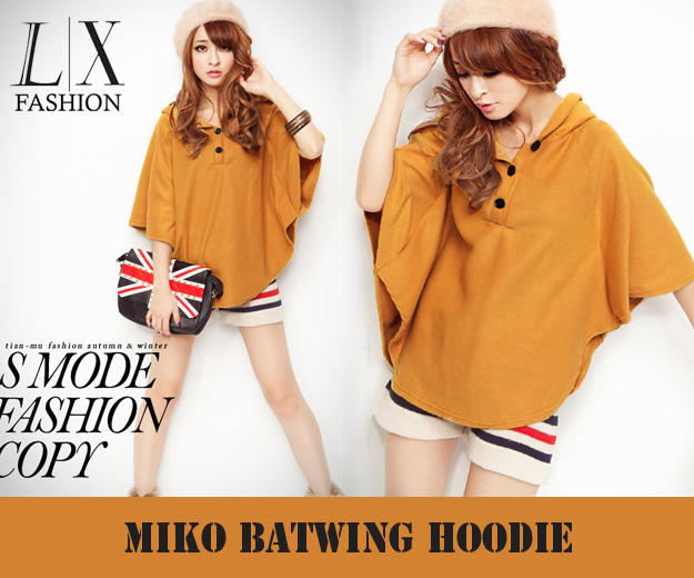 blouse miko batwing B557 (SUPPLIER LADY CLOTH)