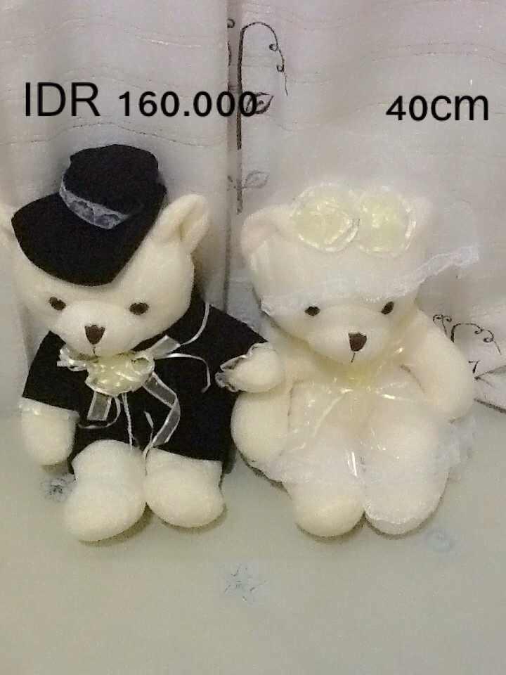 Terjual Boneka Beruang Lucu !! Cocok Untk Kado.. Wedding   Couple ... 31f25e093c