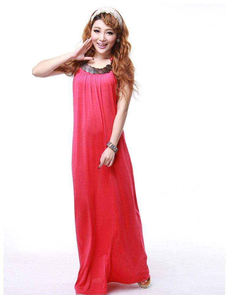 BOHEMIAN DRESS - KK2277RED