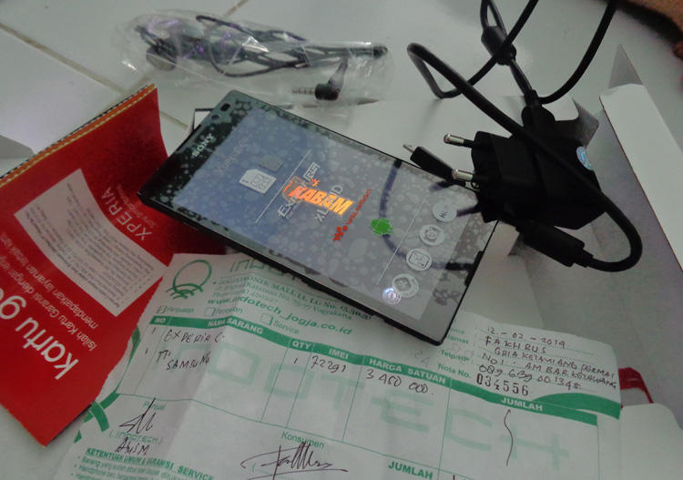 Sony Xperia C black Like New