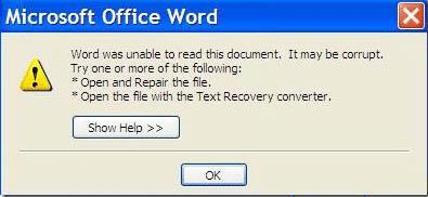 Cara Memperbaiki File Word Yang Corrupt Rusak Kaskus