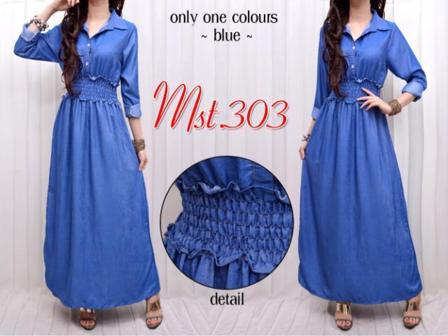 Baju Busana Wanita Cantik Maxidress MST-303