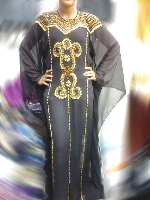 Dress Pesta Kaftan Syahrini