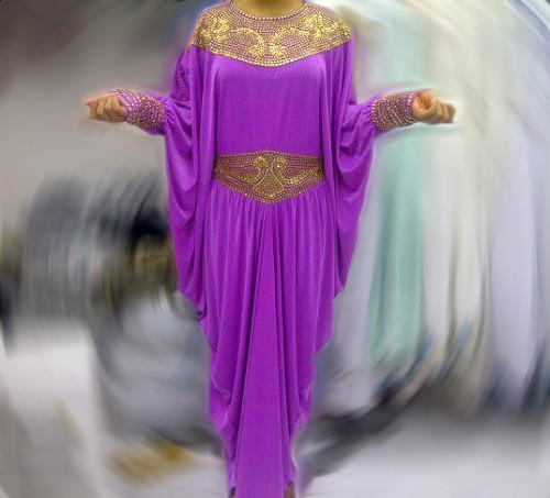 Dress Pesta Kaftan Vega
