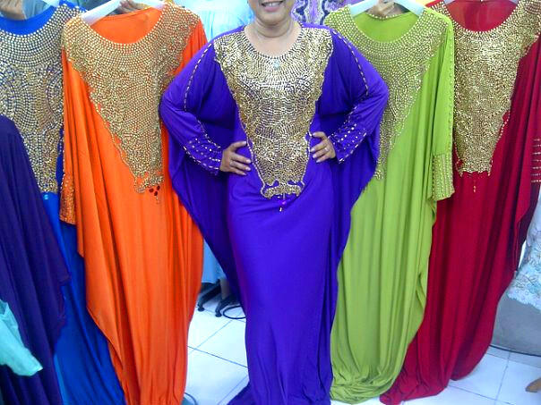 Dress Pesta Kaftan Veronica