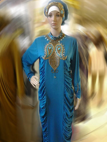 Dress Pesta Abaya Aurel