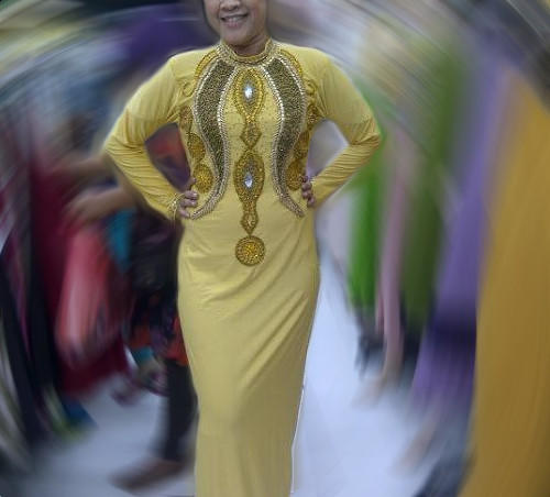 Dress Pesta Abaya Clara