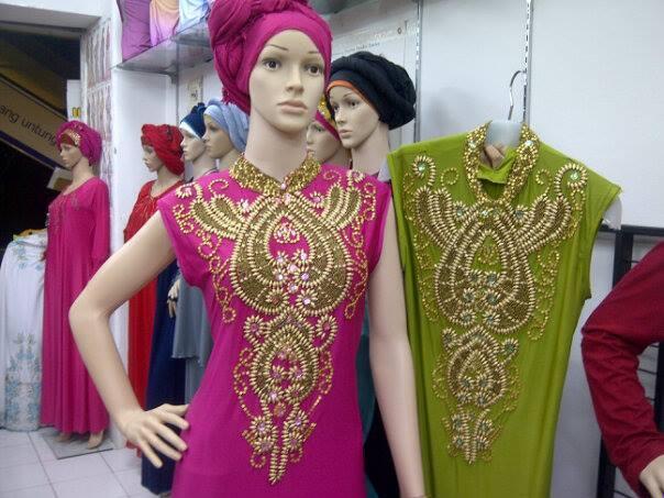 Dress Pesta Abaya Gabi