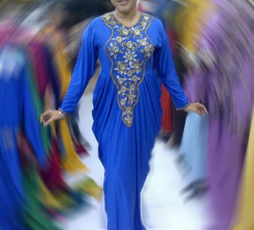 Dress Pesta Abaya Keisha