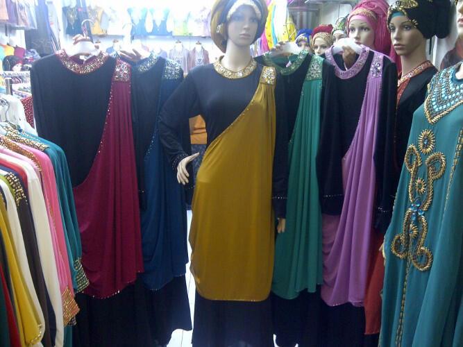 Dress Pesta Abaya Lydia