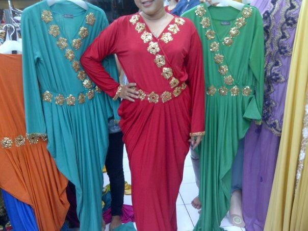 Dress Pesta Abaya Paris
