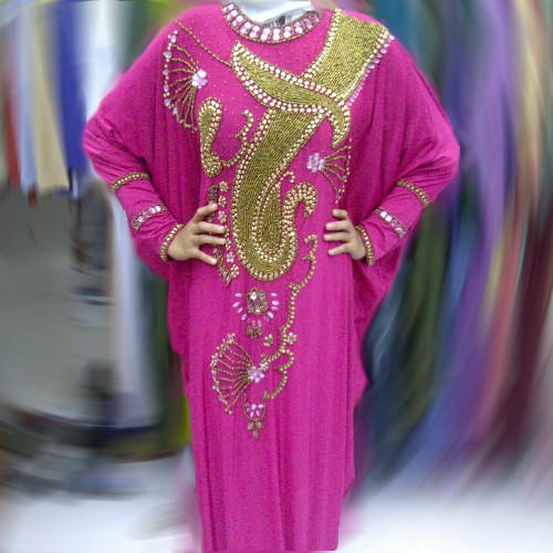Dress Pesta Kaftan Mozza