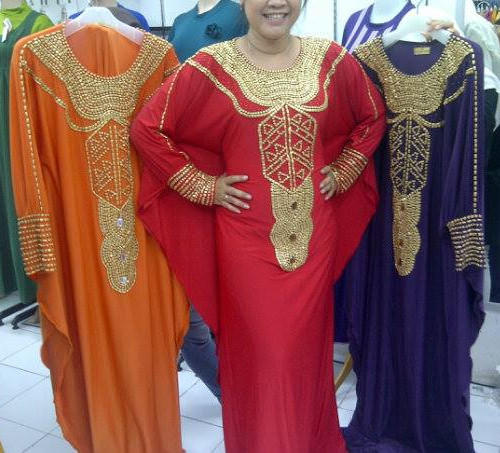 Dress Pesta Kaftan Nancy
