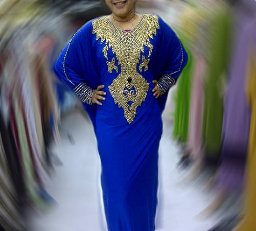 Dress Pesta Kaftan Naura