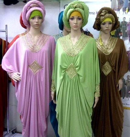 Dress Pesta Kaftan Queen