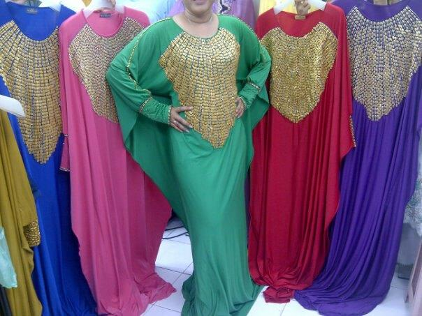 Dress Pesta Kaftan Rahinna