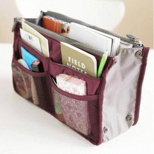 Dual Zipper Compartment Bag