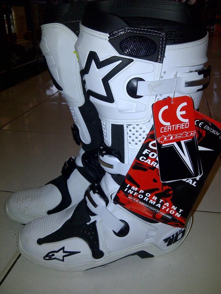 Terjual Sepatu Motocross Onelmx Fox 661 Alphinestar Tcx 11 Motor Cross