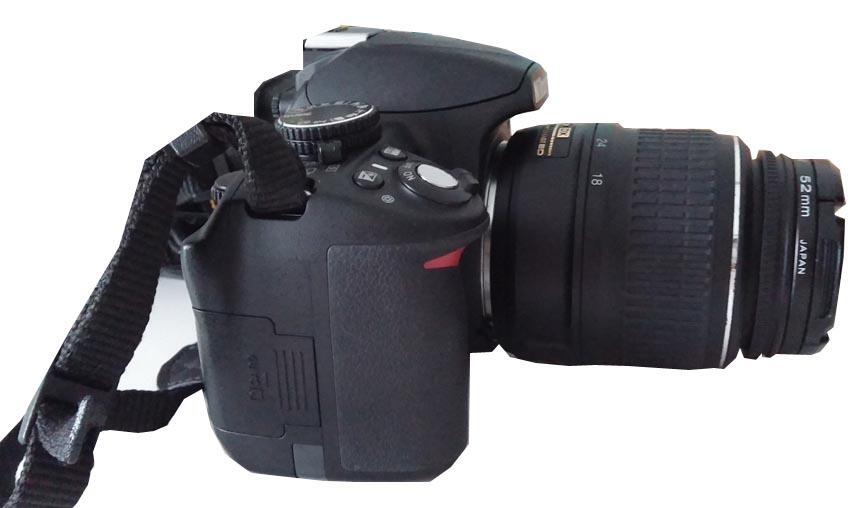 Terjual Jual Kamera Slr Nikon D3100 Lensa 18 55 Dx Non Vr