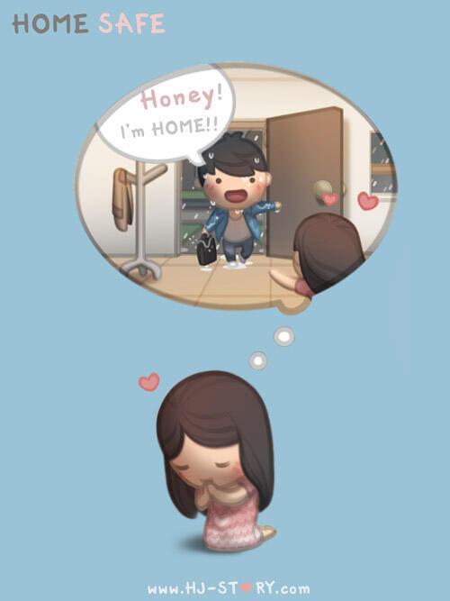 komik lucu tentang apa yang sering cowo alami sewaktu jatuh cinta gan