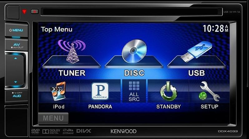 Terjual DOUBLEDIN KENWOOD DVD DDX-4033 (PANTES AGUNG BANDUNG)