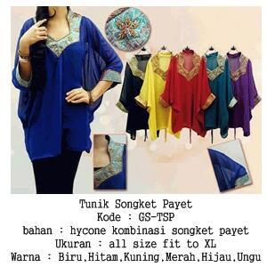 Tunik Songket Payet