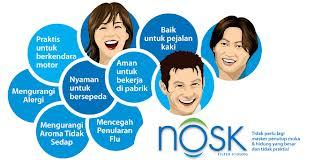NOSK Nasal Filters, The Fresh Air Maker!