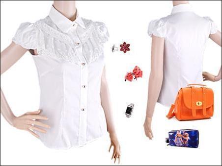 Baju Atasan Stacks Lace