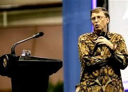 Bill Gates ke Indonesia 5 April 2014 !