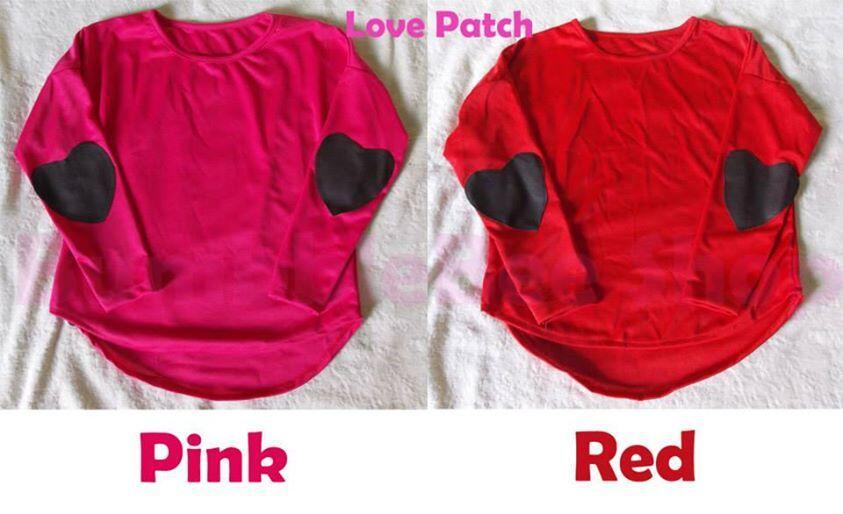 -- Baju Love Patch --