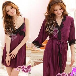 Lingerie Purple