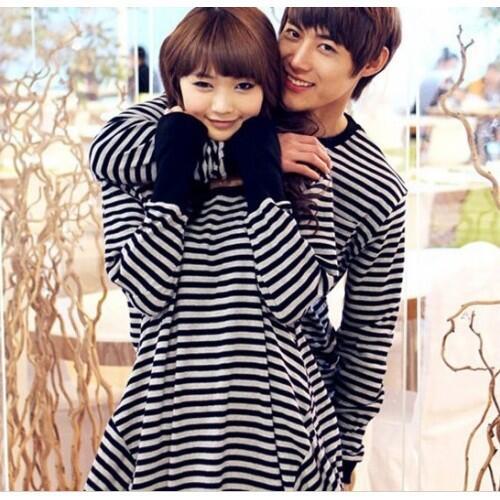Korean Vintage Dress Baju Couple Baju Pasangan Korea Modis Koleksi Terbaru