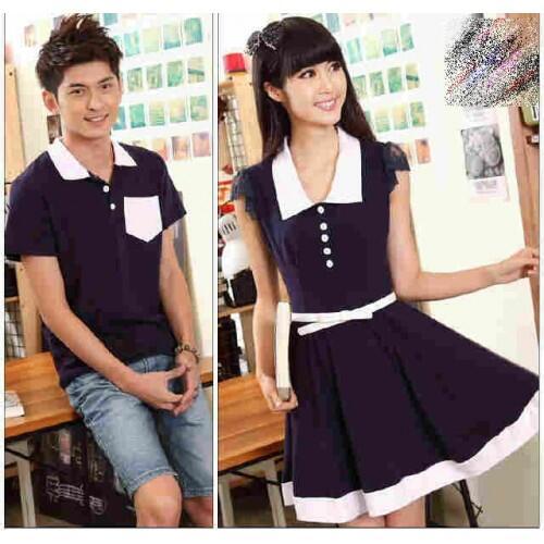 Dress Saga Baju Couple Baju Pasangan Modis Koleksi Terbaru