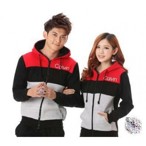 Jacket X2 Calvin Jaket Baju Couple Baju Pasangan Modis Koleksi Terbaru