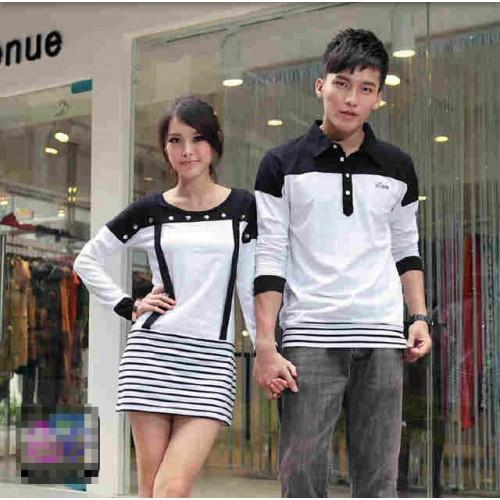 Dress Motex Baju Couple Baju Pasangan Modis Koleksi Terbaru