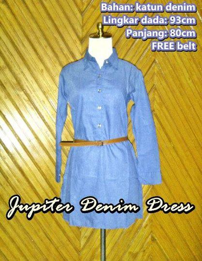 Jupiter Denim Dress
