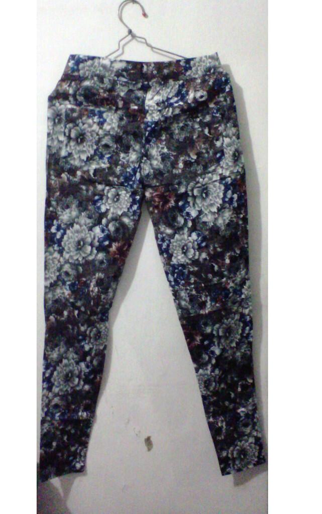 Long Flower Pants