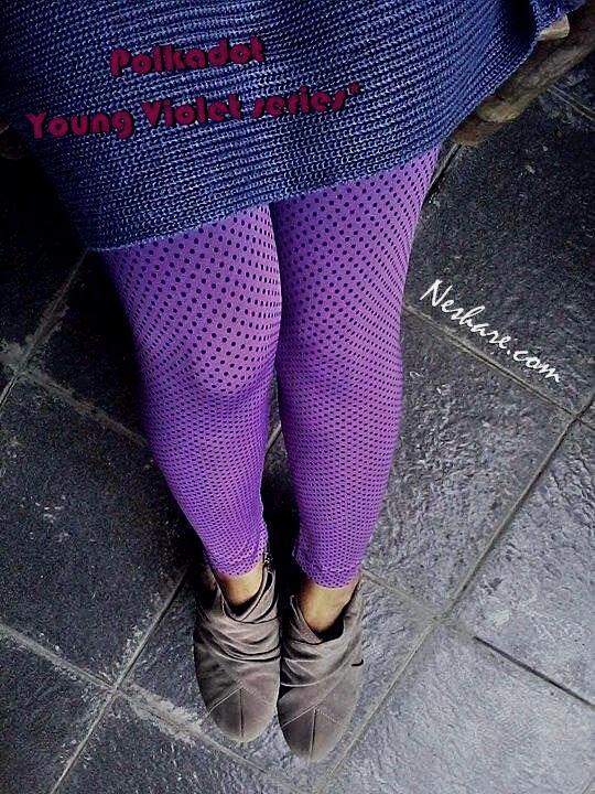 Handmade Legging Motif Polkadot #Neshare.com Part 2