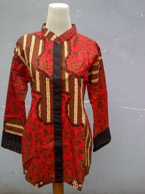 BLUSE Batik Pandji Pekalongan