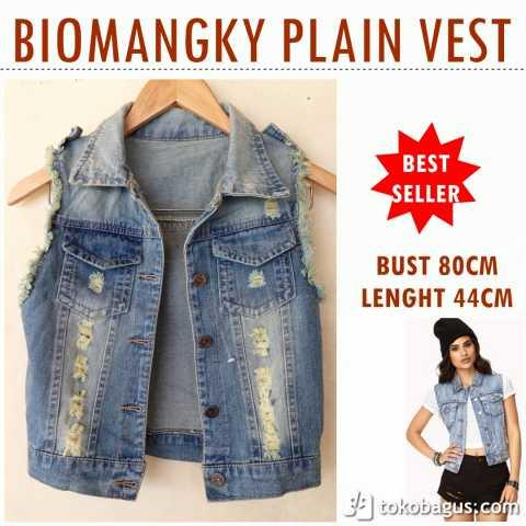 Wash jeans rompi