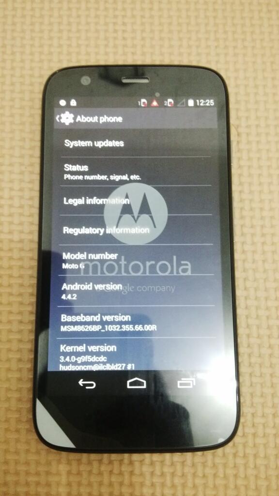 Motorola Moto G Black, dual SIM