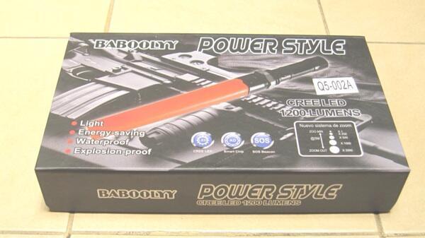 Senter Flash LED POWERSTYLE LALIN