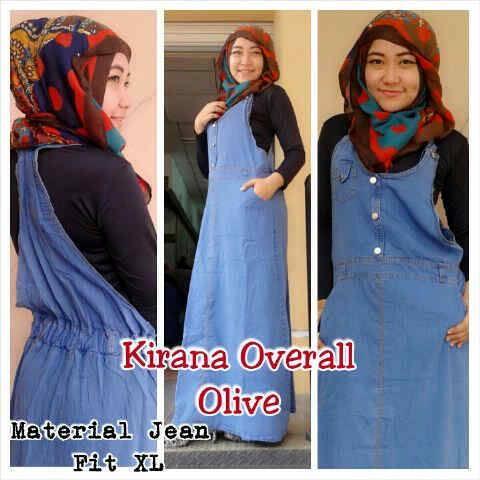 KIRANA OVERALL DRESS