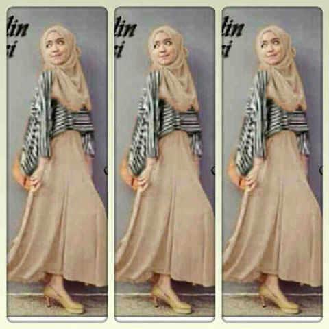 Pakaian Muslim, Dress, Couple, Bawahan Dan atasan keren-keren