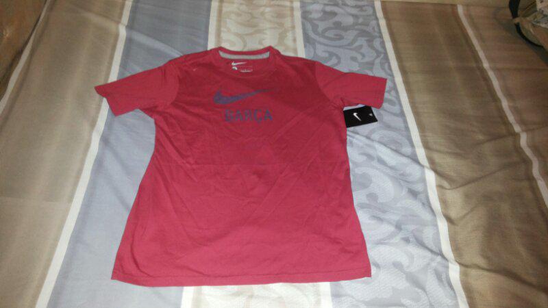 t shirt barcelona NIKE ORIGINAL FOR 155 - 165 CM