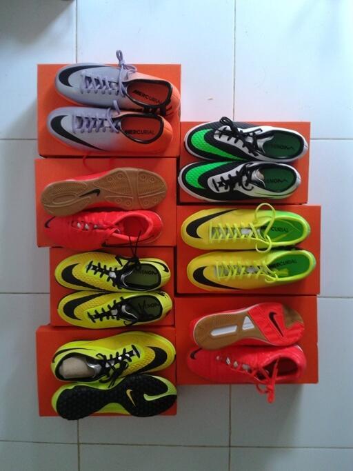 jual sepatu futsal nike mercurial victory cristiano ronaldo metalic orange  original 894ac6eee5