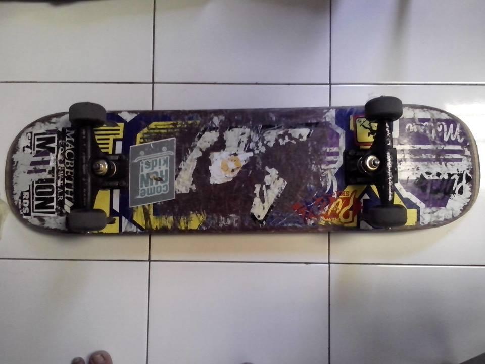 Terjual WTS Fullset Skateboard Deck Motion Truck