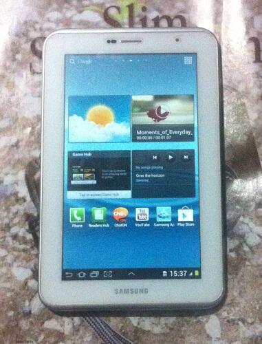 Samsung Galaxy Tab 2 7.0 P3100 White Masih Garansi SEIN Murah aja & Ada Bonusnya !!