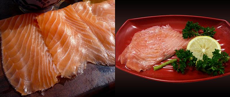 Smoked Norwegian Salmon. Siap Santap !