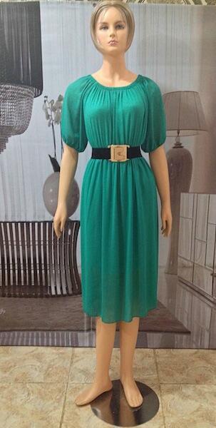 Long Dress Light Green (BS D 45A)